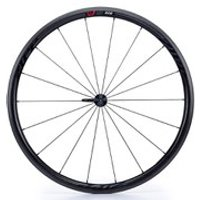 Zipp 202 Firecrest Carbon Clincher Front Wheel - Black Decal