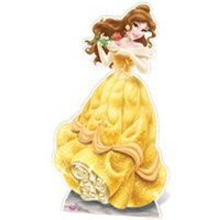 Disney Princess Beauty and the Beast Belle Cut Out