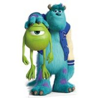 Disney Monsters University Sulley and Mike Cut Out - University Gifts