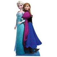 Disney Frozen Anna and Elsa Cut Out