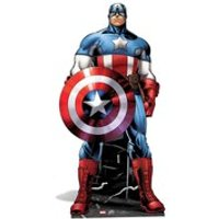 Marvel The Avengers Captain America Cut Out - Marvel Gifts
