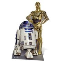 Star Wars The Droids R2-D2 and C-3PO Cut Out - Star Wars Gifts