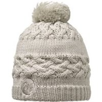 Buff Knitted and Polar Savva Hat - Cream
