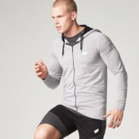 Performance Zip Top - Grey - M - Grey