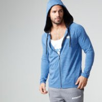 Performance Zip-Top - L - Blue