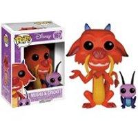 Disney Mulan Mushu & Cricket Pop! Vinyl Figure