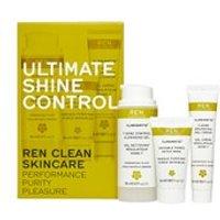 REN Ultimate Shine Control Regime Kit for Combination Skin