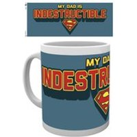 DC Comics Superman Indestructible Dad - Mug - Superman Gifts