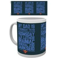 DC Comics Superman My Dad is Stronger - Mug - Superman Gifts