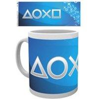 PlayStation Silver Buttons - Mug