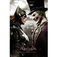 DC Comics Batman: Arkham Knight Batgirl and Joker - 24 x 36 Inches Maxi Poster