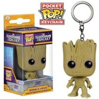 Marvel Guardians Of The Galaxy Groot Pocket Pop! Vinyl Key Chain - Key Gifts