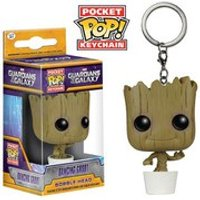 Marvel Guardians Of The Galaxy Baby Groot Pocket Pop! Vinyl Key Chain - Guardians Of The Galaxy Gifts
