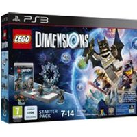 LEGO Dimensions: Starter Pack PS3 Batman™, Gandalf™, Wyldstyle™, Batmobile™ (71170)