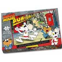 Paul Lamond Games Danger Mouse Run for it Puzzle (1000 Pieces) - Games Gifts