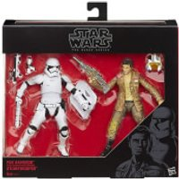 Star Wars: The Force Awakens The Black Series Poe Dameron and Stormtrooper Exclusive 2-Pack Action Figures - Star Wars Gifts