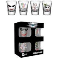 DC Comics Batman The Dark Knight Joker - Shot Glasses - Glass Gifts