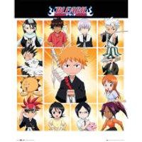 Bleach Chibi Characters - 16 x 20 Inches Mini Poster