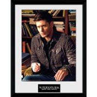 Supernatural Dean - 16 x 12 Inches Framed Photographic - Supernatural Gifts