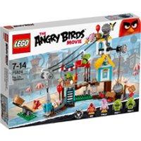 LEGO Angry Birds: Pig City Teardown (75824) - Angry Birds Gifts