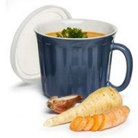 Sagaform Soup Mug with Lid - Blue