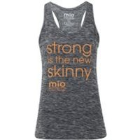 Mio Skincare Women's Performance Slogan Vest - Black - UK 6 - Black