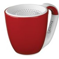 GEAR4 Double Espresso Portable Wireless Bluetooth Speaker - Red