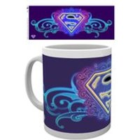 DC Comics Supergirl Neon - Mug - Comics Gifts