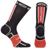 Northwave Sonic Winter Socks - Black/Red - L - Black/Red