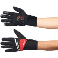 Northwave Sonic Long Finger Gloves - Black/Red - L - Black/Red