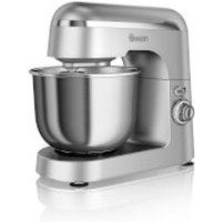 Swan SP25010SN Retro Stand Mixer - Silver - Retro Gifts