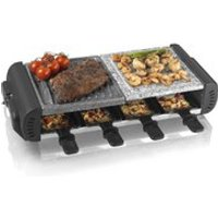 Tower T14016 3-in-1 Cerastone Raclette - Black