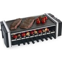 Tower T14020 3-in-1 Reversible Kebab Grill - Black