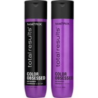 Matrix Total Results Color Obsessed Shampoo (300ml), Conditioner (300ml) and Miracle Treat 12 Lotion