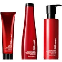 Shu Uemura Art of Hair Color Lustre Sulfate Free Shampoo (300ml), Conditioner (250ml) and Thermo-Mil
