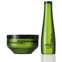 Shu Uemura Art of Hair Silk Bloom Shampoo (300ml) and Treatment (200ml)