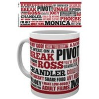 Friends Quotes - Mug - Quotes Gifts