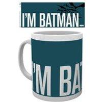 DC Comics Batman Comic Im Batman Simple - Mug