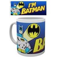 DC Comics Batman Comic Im Batman Bold - Mug