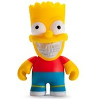 Kidrobot The Simpsons Bart Grin Action Figure - The Simpsons Gifts