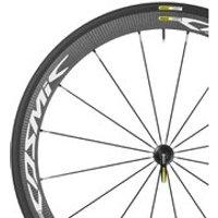 Mavic Cosmic Carbone 40 Elite Wheelset - 25mm Tyre - Campagnolo - White