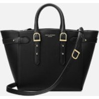 Aspinal of London Womens Marylebone Medium Tote Bag - Black