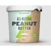 Organic Peanut Butter - 1kg - Tub - Smooth