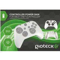 Gioteck Xbox One Controller Power Skin - White