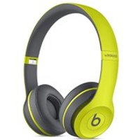 Beats by Dr. Dre: Solo2 Wireless Active Collection On Ear Headphones - Yellow - Music Gifts