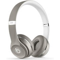 Beats by Dr. Dre: Solo2 Luxe Edition On-Ear Headphones - Silver - Headphones Gifts