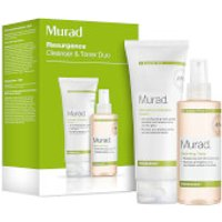 Murad Renewing Cleansing Cream and Hydrating Toner Duo (Worth 50)