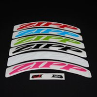 Zipp 404 Colour Wheel Decal Set 2016 - Matte Green