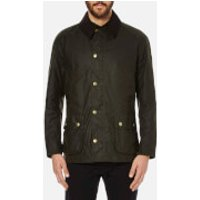 Barbour Men's Ashby Wax Jacket - Olive - M - Green