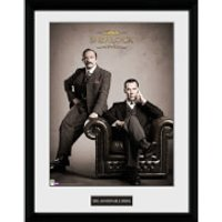 Sherlock Victorian - 16 x 12 Inches Framed Photographic - Sherlock Gifts